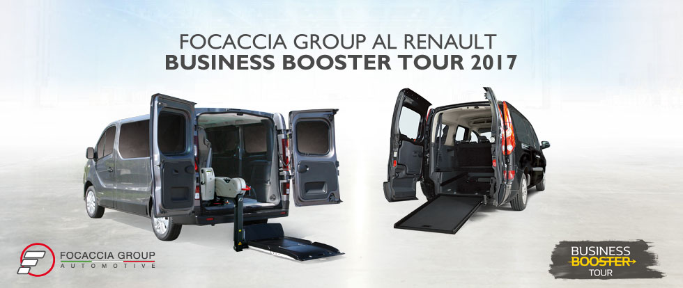 Focaccia Group Renault Business Booster Tour