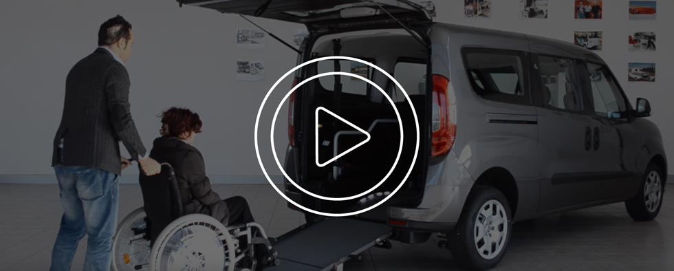 Video Fiat Doblo Disabili