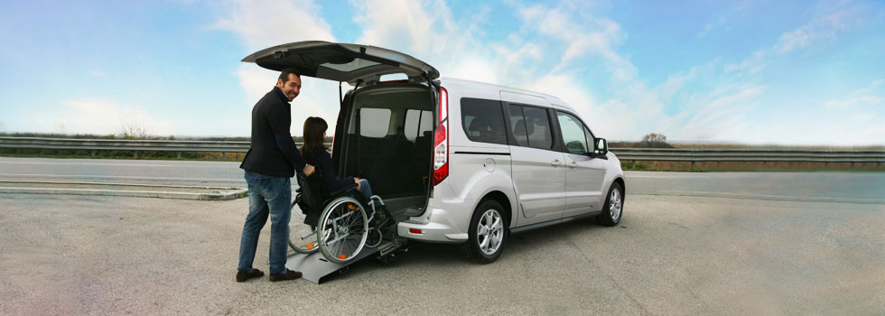 Ford Tourneo Connect7 Trasporto Disabili