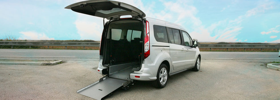 Ford Tourneo Connect7 per Disabili