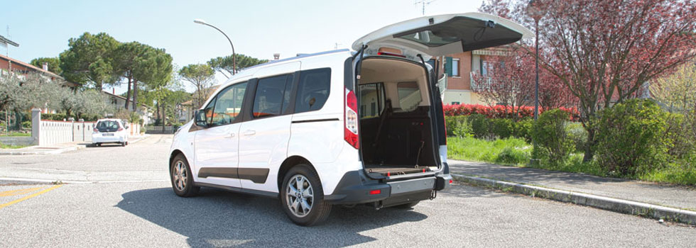 Ford Tourneo Connect Trasporto Disabili Flex Ramp
