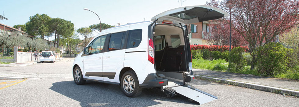 Ford Tourneo Connect Trasporto Disabili