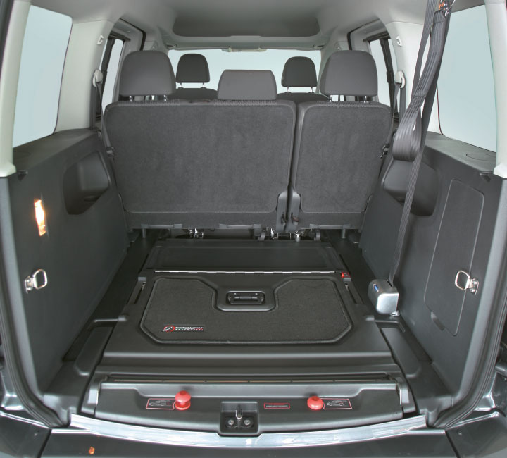 Volkswagen Caddy Genius Ramp