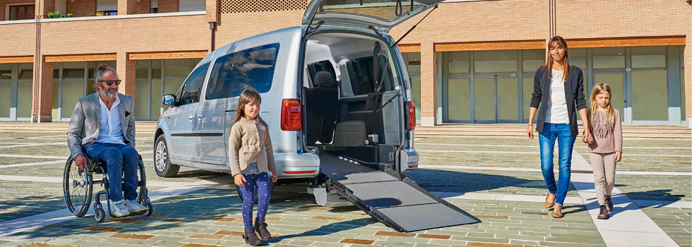 Volkswagen Caddy per Disabili