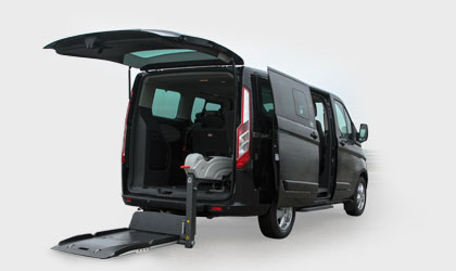 Ford Tourneo Custom Disabili Pronta Consegna