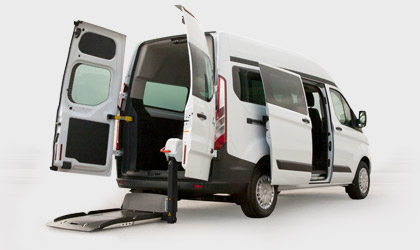 Ford Transit Custom Disabili in Pronta Consegna