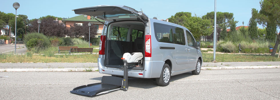 Citroen Jumpy per Disabili