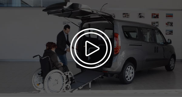 Fiat Doblo Disabili Video