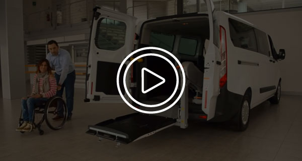 Ford Transit Custom Trasporto Disabili Video