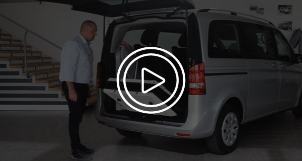 Mercedes Classe V Trasporto Disabili Video