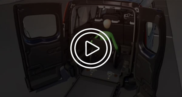 Renault Grand Kangoo Trasporto Disabili Video