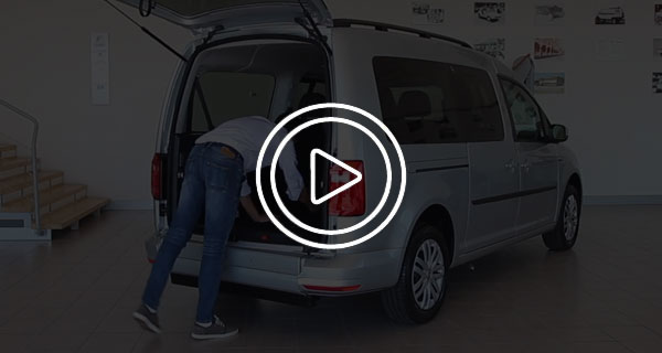 Volkswagen Caddy Trasporto Disabili video