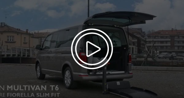 Volkswagen Multivan T6 per disabili Video