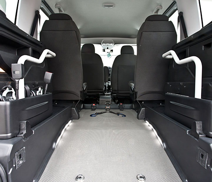Fiat Doblo Lowered Floor Interior