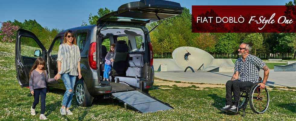 Fiat Doblò F-Style One Lowered Floor Vehicle
