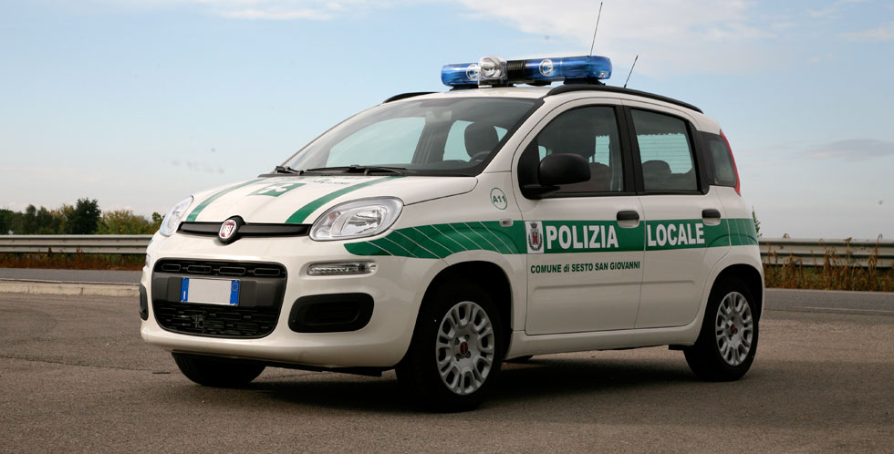 Fiat Panda Police Car Conversion