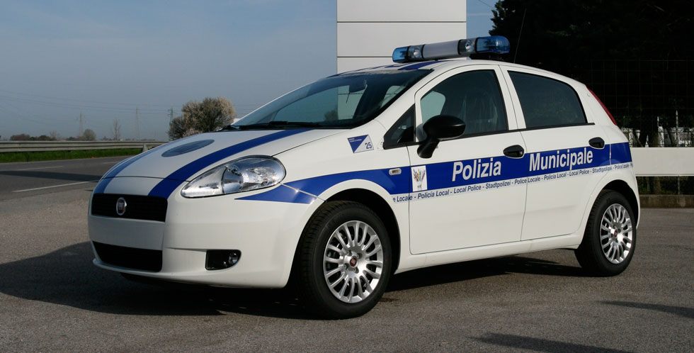 Fiat Punto Police Car Conversion