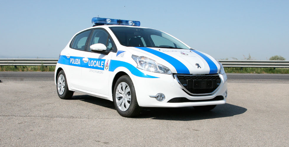 Peugeot 208 Police Car Conversion