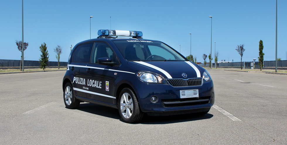 Skoda Citigo Police Car