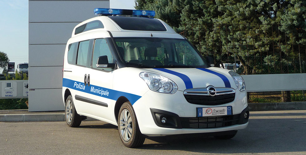 Opel Combo Police Car Mobile Office