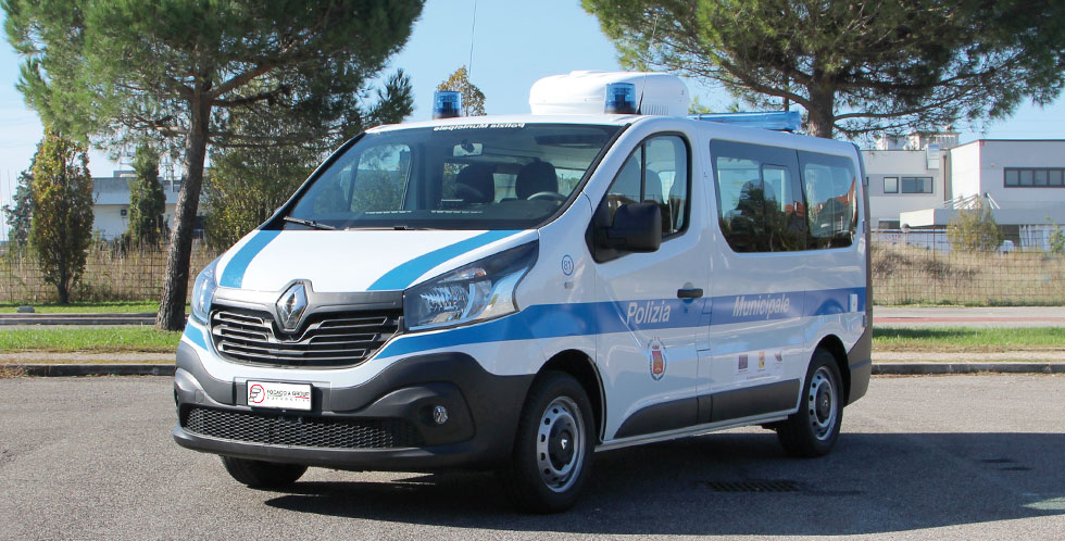 Renault Trafic Police Car Mobile Office