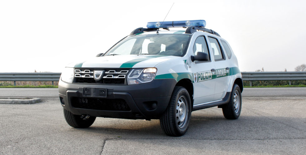 Dacia Duster Police Car
