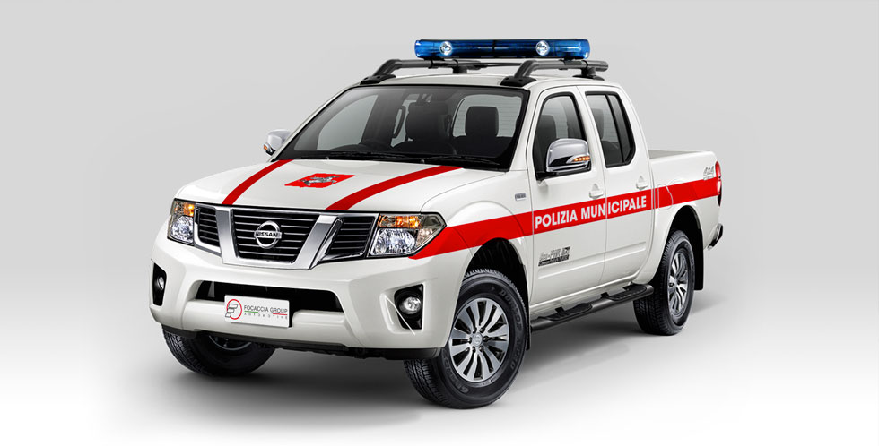 Nissan Navara Police Car Conversion
