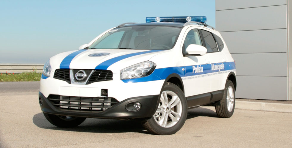 Nissan Qashqai Police Car Conversion