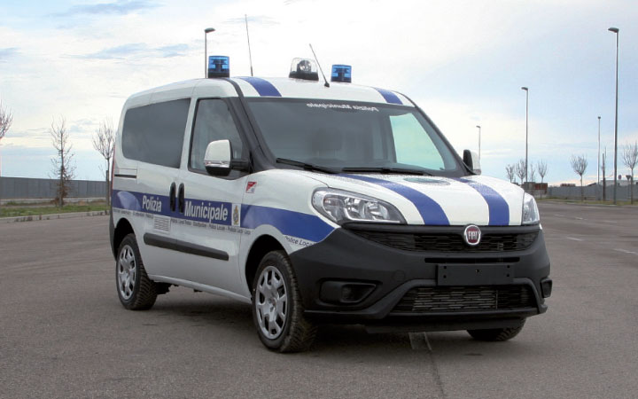 Fiat Doblo Police Car Conversion