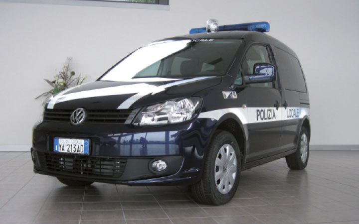 Volkswagen Caddy Police Car