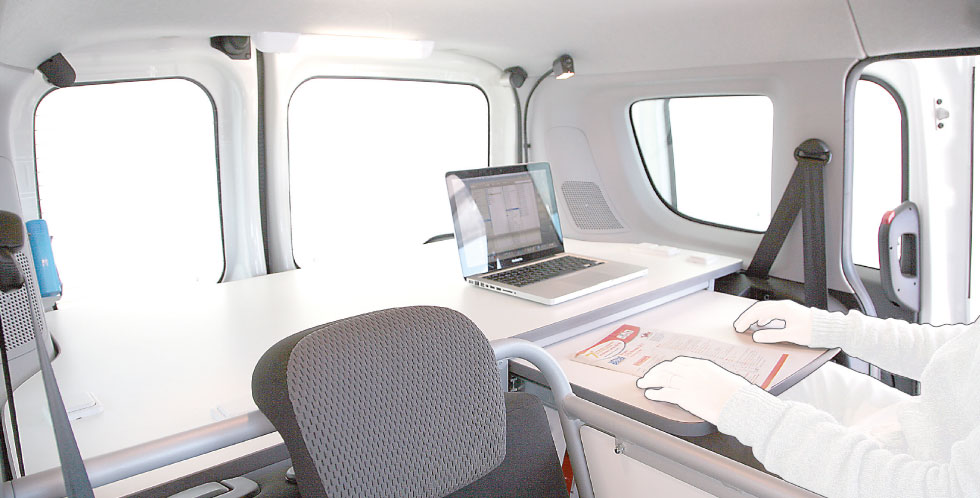 Compact F Mobile Office