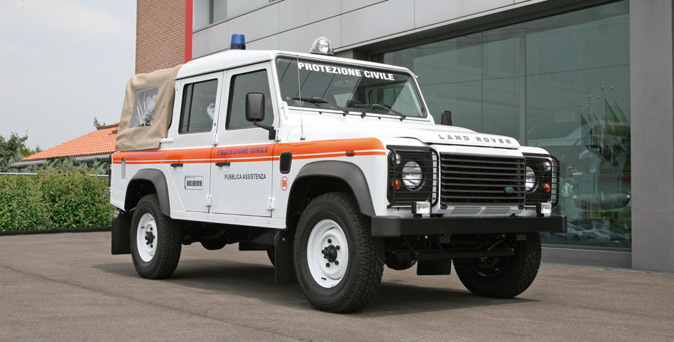 Land Rover Civil Protection Conversion