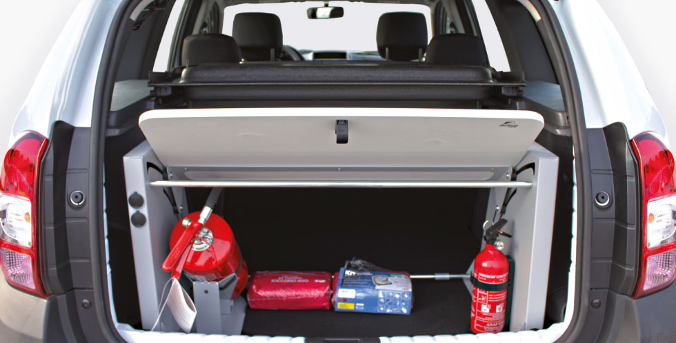 R Series Trunk Organizer Police Car