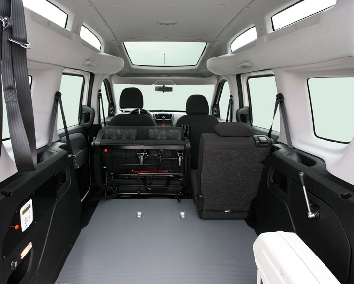 Wheelchair Accessible Fiat Dobl 242 High Roof Focaccia