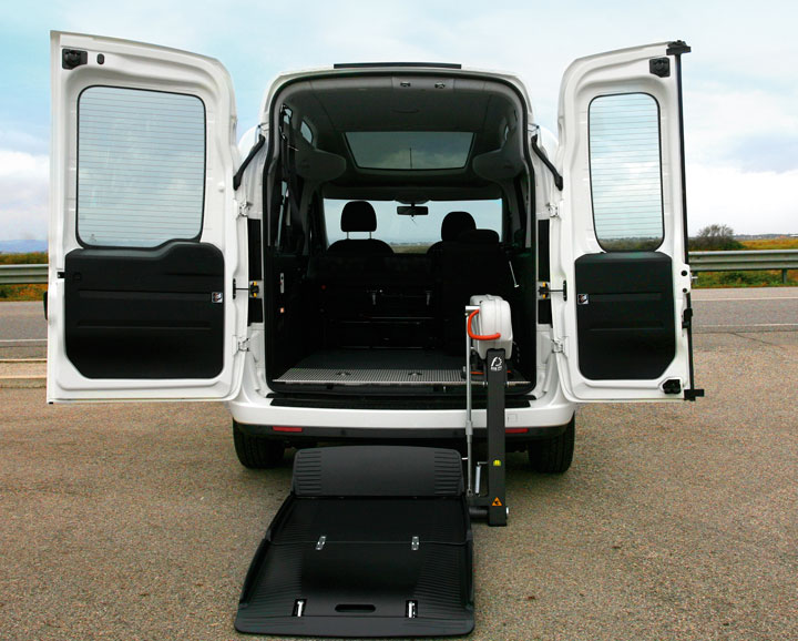 Fiat Doblo H2 Wav with fiorella lift