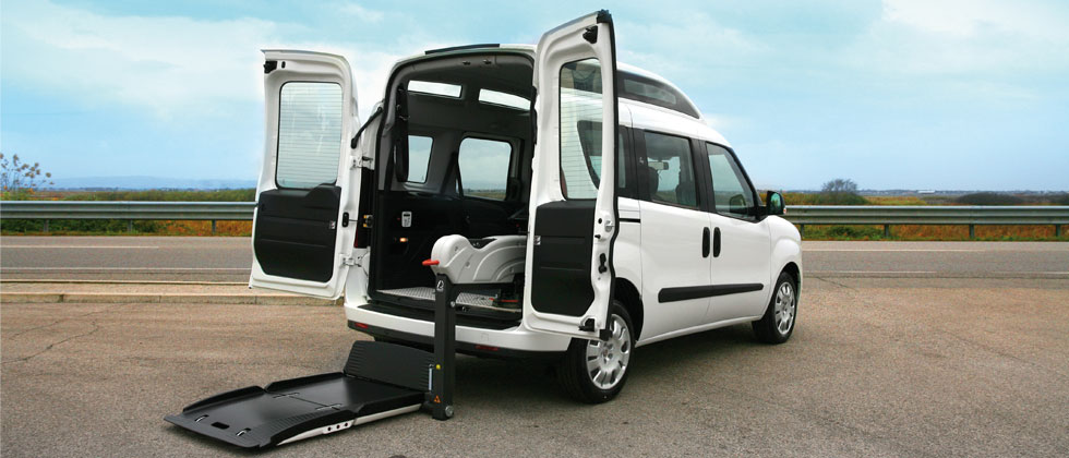 Wheelchair Accessible Fiat Doblò - High Roof