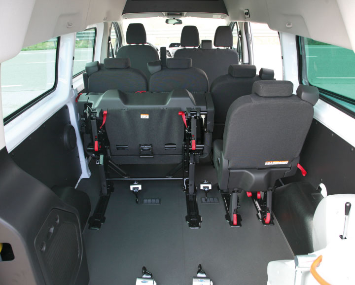 Ford Transit Custom Wheelchair Accessible Vehicle