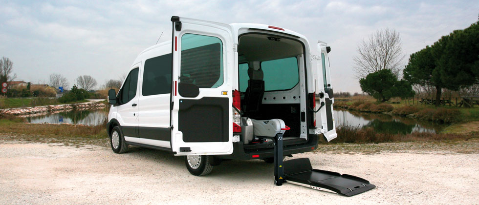 Wheelchair Accessible Ford Transit