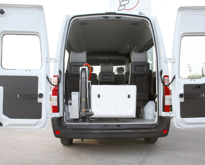 Opel Movano Wav Fiorella Lift rear door