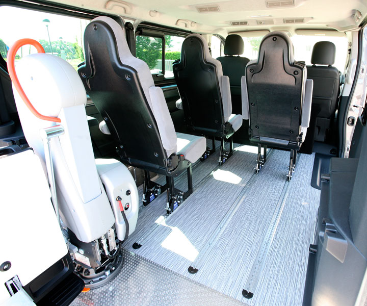 Opel Vivaro Wav Single Seats