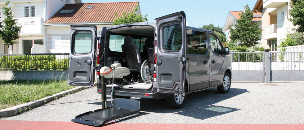 Wheelchair Accessible Opel vivaro