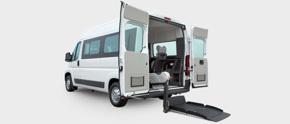 Wheelchair Accessible Peugeot Boxer