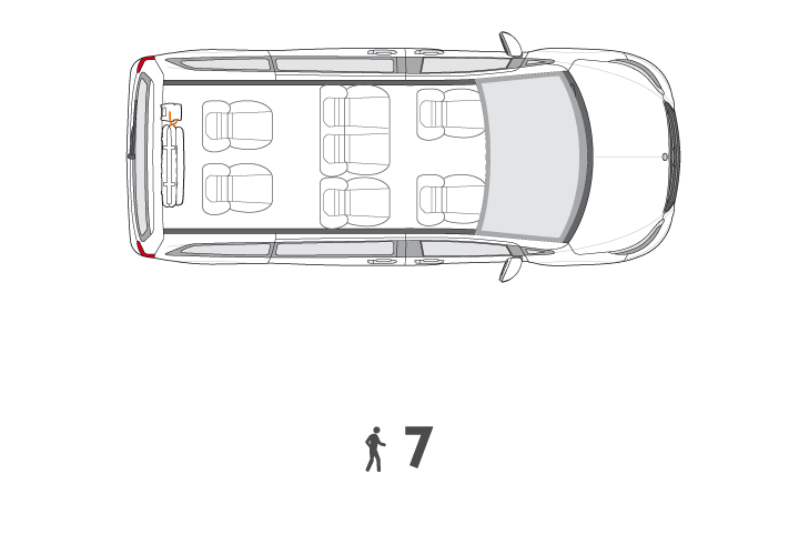 Wheelchair Accessible V Class Configuration1