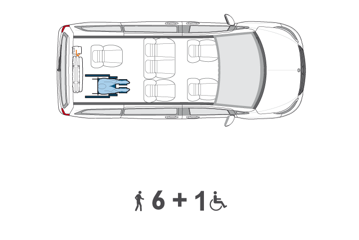 Wheelchair Accessible V Class Configuration2