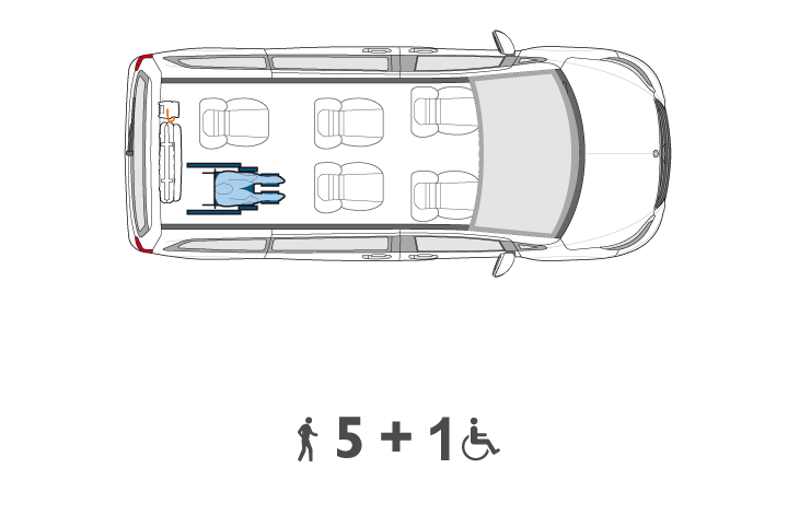Wheelchair Accessible V Class Configuration3