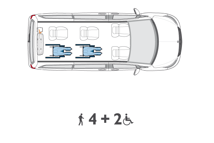 Wheelchair Accessible V Class Configuration4