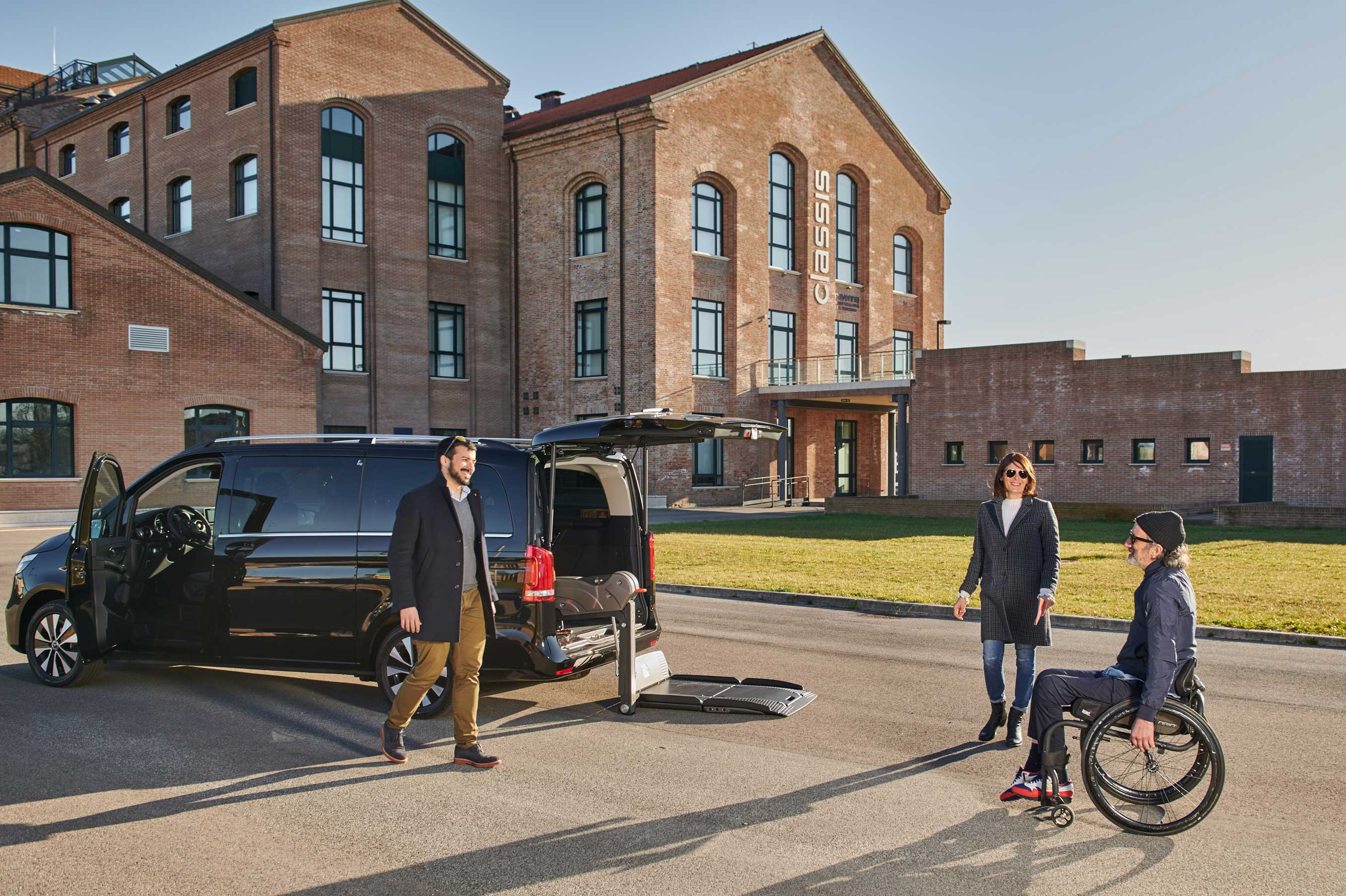 Wheelchair Accessible Mercedes V-Class