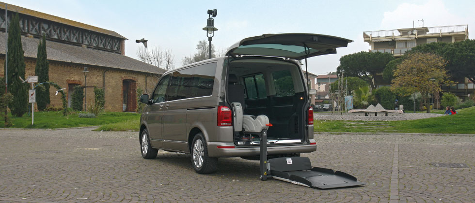 Wheelchair Accessible Volkswagen Multivan