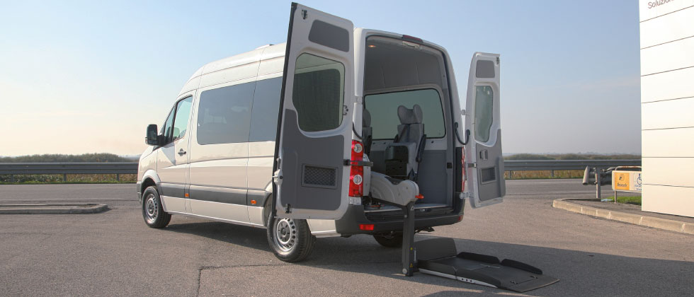 Wheelchair Accessible Volkswagen Crafter