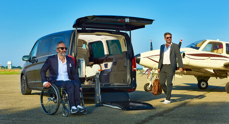 Mercedes V Class Wheelchair Accessible Vehicle